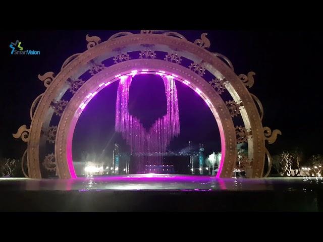 Thi công Màn nước nghệ thuật Mũi Né Bay Resort