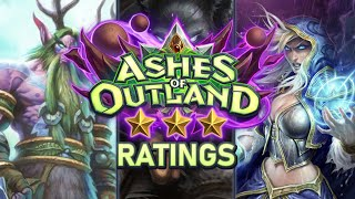 Trump's Ashes of Outland ⭐ Ratings: Druid / Hunter / Mage | Hearthstone
