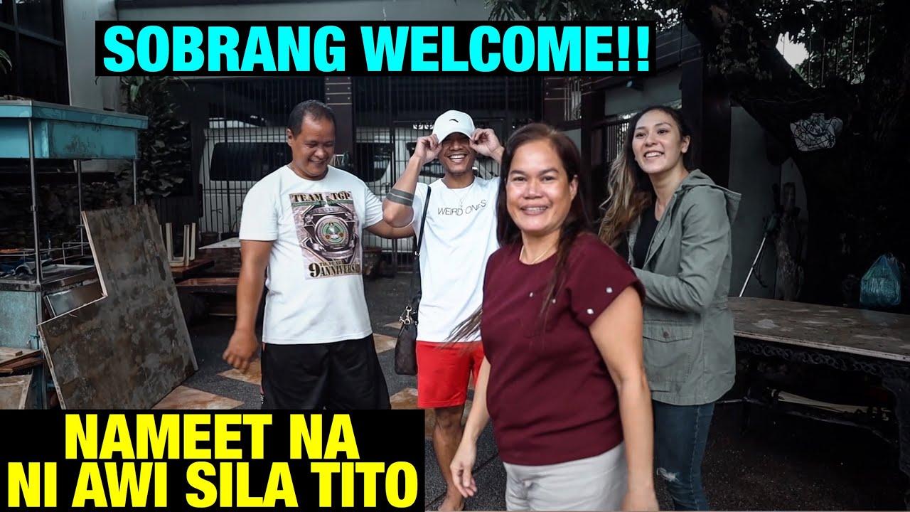 FIRST TIME NI AWI PUMUNTA SA BAHAY NILA TITO!! // NAKAKATUWA!! | vlog 625