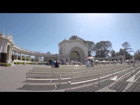 National Anthem - GoPro - 4,518 Pipe Spreckels Organ - 100th Anniversary Balboa Park
