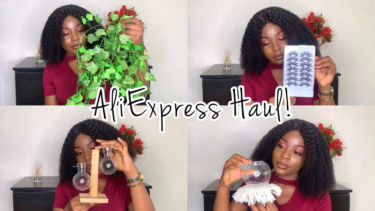 AliExpress Haul #2: room decor + makeup items  || Giveaway announcement.