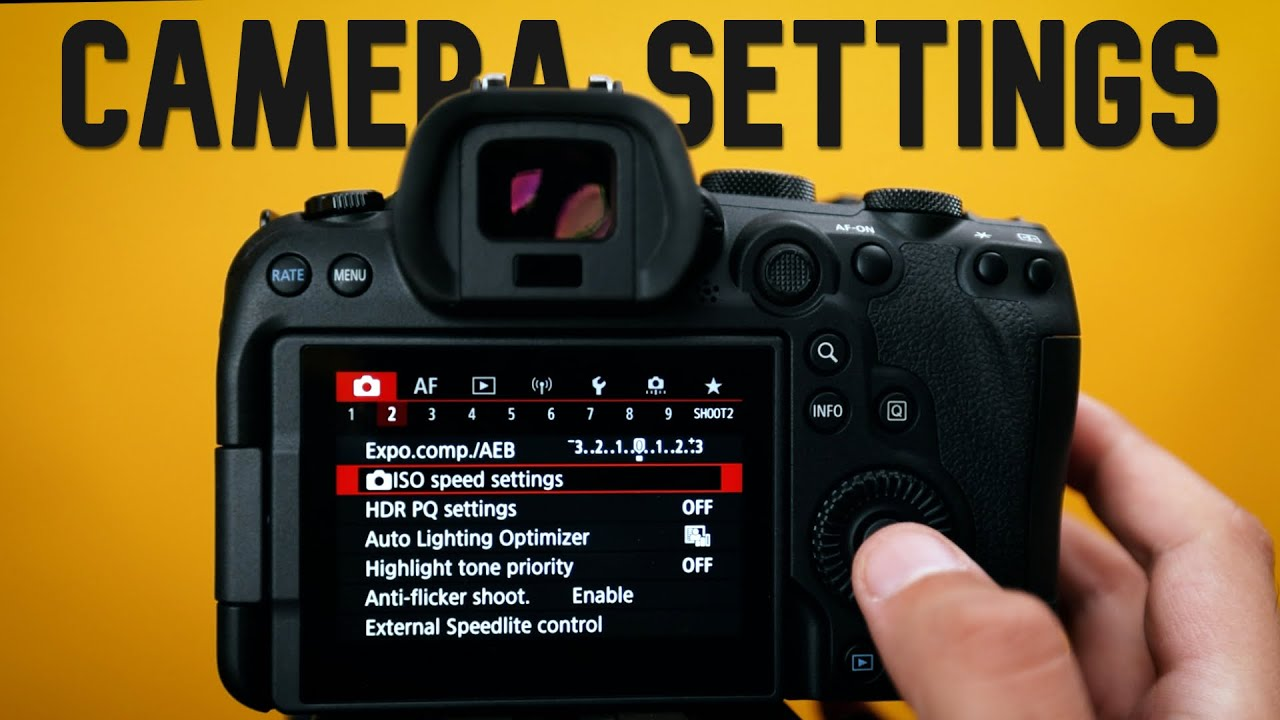 Change these 10 Camera Settings NOW | Beginning Photography Tips