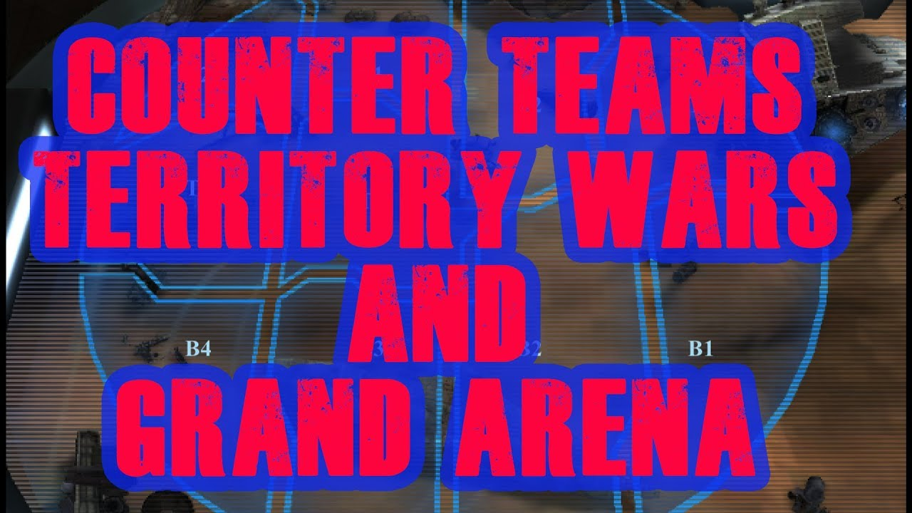 Counter Attack! Best Counter Teams for Territory Wars and Grand Arena! Ewok  Prep Fix SWGOH