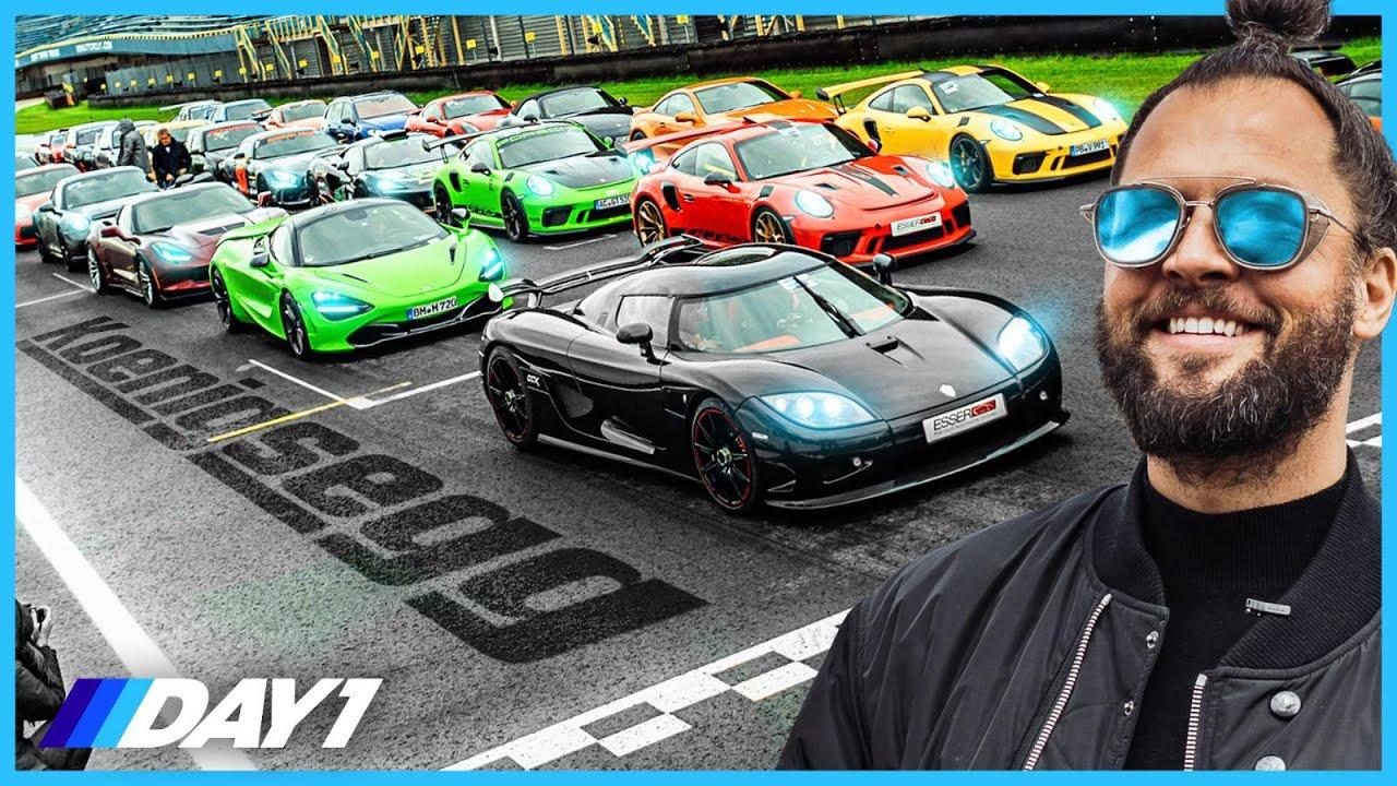 RACEN met KOENIGSEGG (€2.000.000,-) OP TT CIRCUIT ASSEN! | DAY1 Racing Special | DAY1