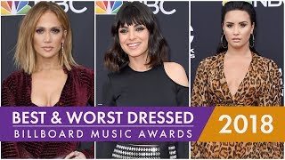Jennifer Lopez, Taylor Swift, Nick Jonas : Best and Worst Dressed at the 2018 Billboard Music Awards