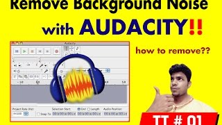 how to remove background noise in audacity | Complete tutorials here!