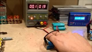 How to Charge near dead 18650 lithium ion batteries safely!