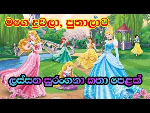 Download Sinhala Fairy Tales | Sinhala Lama Katha | Sinhala Cartoon | Surangana Katha | Kids Story-sachi amma