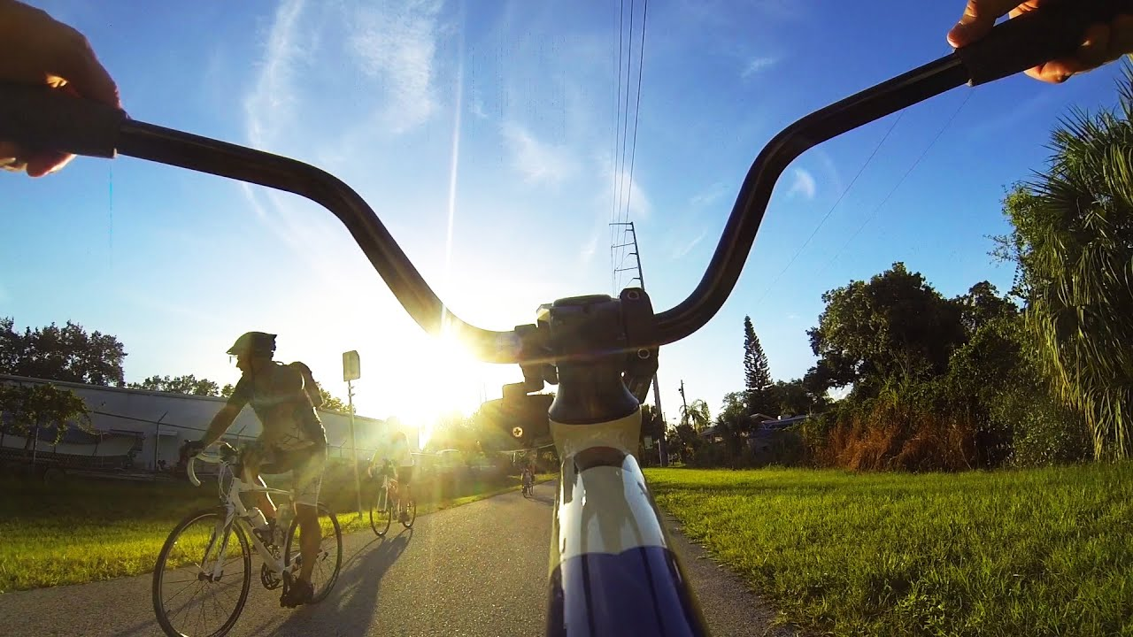 Biking the Pinellas Trail