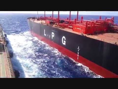 LPG Gaz Unity - Ship to Ship Operation