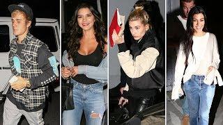 Justin Bieber And Red Hot GF Paola Paulin Joined By Kourtney Kardashian And Hailey Baldwin At Church