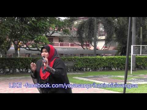 Penyanyi Aisyah - LIVE Bahtera Merdeka & Nasyid di Dataran PPR Laksamana