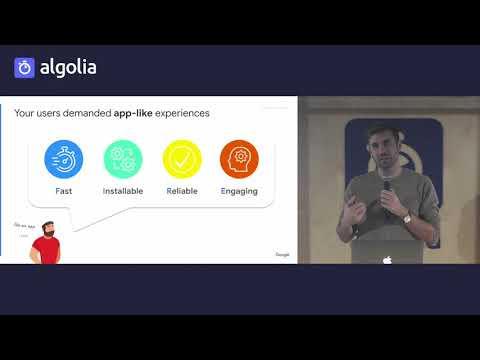 Modern mobile web experiences -  Loïc de Saint Andrieu, Google