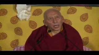 Trisur Prof. Samdhong Rinpoche talk to the New Arrival from Tibet