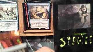 Spectre Mtg Dragons of Tarkir French Box Opening -  Narset,  Sarkhan !!!