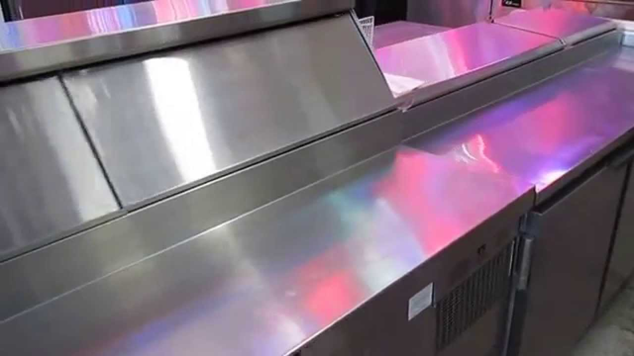Sandwich Salad And Pizza Prep Tables For Sale Phoenix AZ YouTube - Sandwich prep table for sale