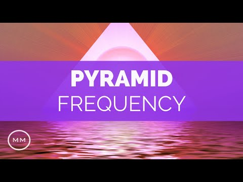 Great Pyramid (Inside Frequency)  - 33 Hz Super Consciousness -  Monaural Beats