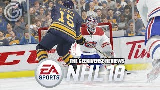 NHL 18 Review – Expansion Into Contention | The Geekiverse Reviews