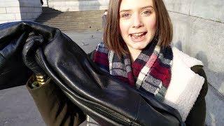 Girls Leather Pants