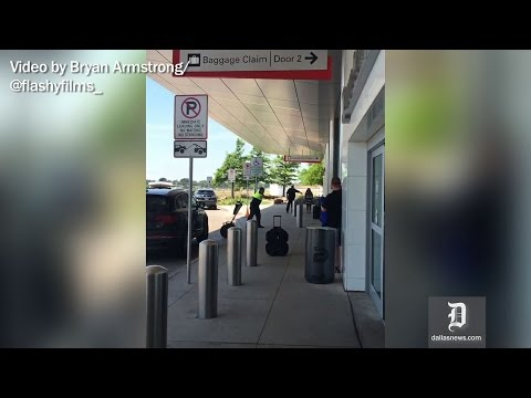 RAW VIDEO: Shooting at Dallas Love Field