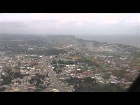 Landing in Libreville Gabon runway 16