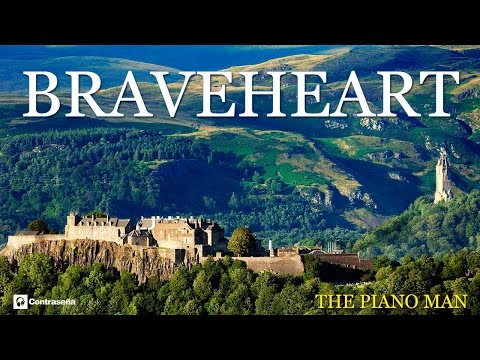 Braveheart Instrumental Soundtrack Tribute of piano man, relaxing music, melody, musica relax, calm