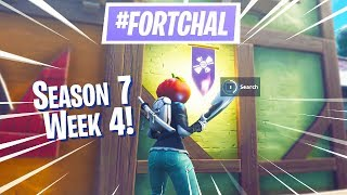 Fortnite Season 7 Week 4 SECRET Banner & Challenge Guide!