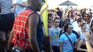 Frankie P & Davide Ruberto live set @ Papeete 2 maggio 09 (video edit by Gorilla Prod)human