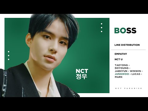 NCT U - Boss (Line Distribution) [CORRECTED]