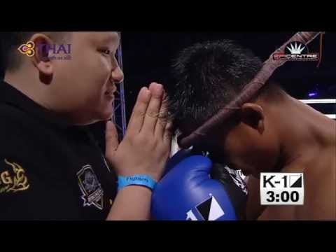 Buakaw Banchamek vs David Calvo | K1 WORLD MAX 2013 FINAL 16 HD