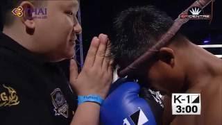 Buakaw Banchamek vs David Calvo | K1 WORLD MAX 2013 FINAL 16 HD