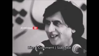 Waseem Barelvi   Heart Touching   Trending Poetry   Sad Shayri  Status 2019