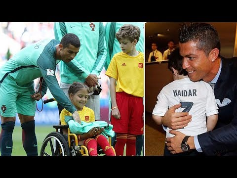 Why Cristiano Ronaldo is one of the nicest guys alive - Oh My Goal