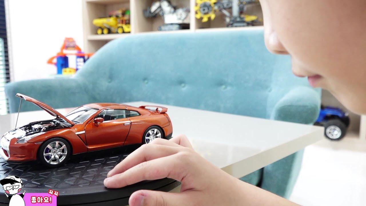 예준이의 자동차 장난감 조립놀이 게임 플레이 색칠놀이 Car Toy Assembly