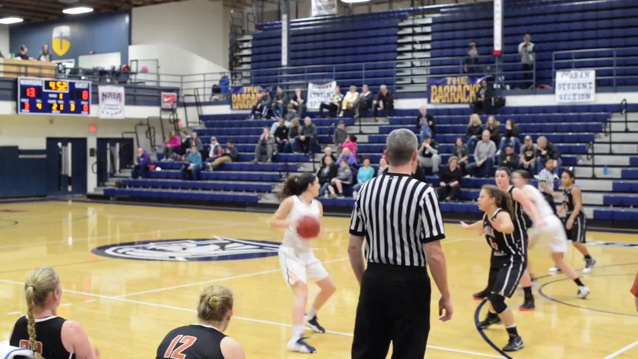 Corban Women's Basketball vs Walla Walla Highlights (01/27 ...