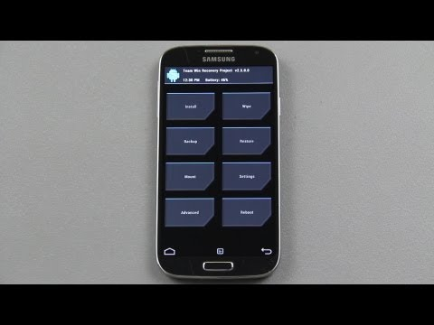 How To Install and Update Custom Recovery on the Galaxy S4