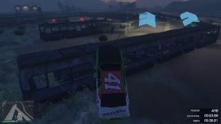 GTA V LIVE RACING#262-CORE GAMING'S CRASH UNIT#15 [FULL CONTACT RACING PLAYLIST]