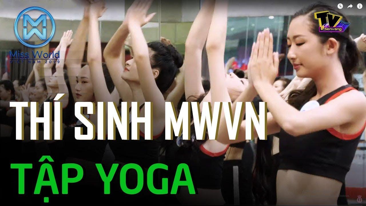 Cùng trải nghiệm 1 buổi tập Yoga với các thí sinh Miss World Việt Nam 2019