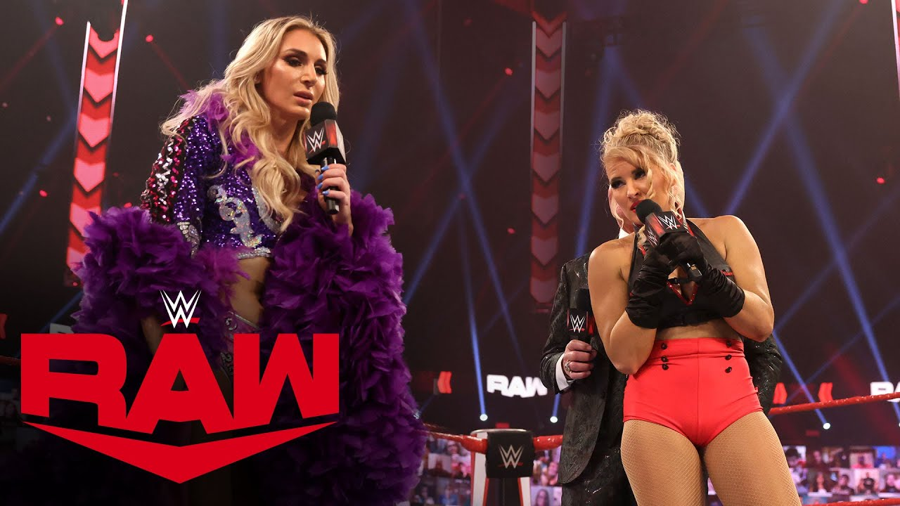 Charlotte Flair confronts Lacey Evans face-to-face: Raw, Feb. 8, 2021