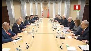 В Парламенте обсудили перспективы двусторонних отношений Минска и Тбилиси