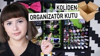ORGANİZATÖR KUTU YAPIMI | DIY Organizer Box