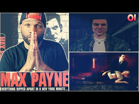 Max Payne Gameplay Walkthrough Part 1 - The American Dream