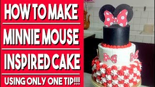 How to make Minnie Mouse Inspired Cake