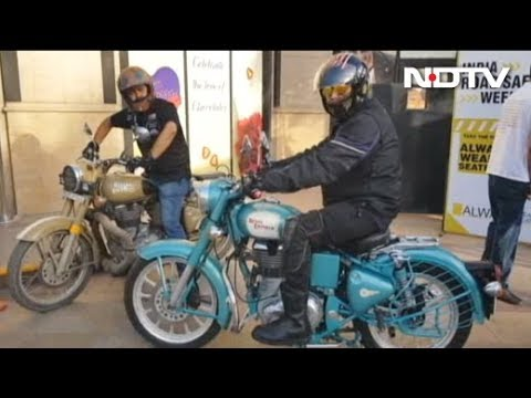 Over 100 Motorcyclists Ride 40 Km To Spread Awareness On Road Safety In Delhi