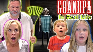 Grandpa In Real Life! Who is Better Granny or Grandpa Game! | DavidsTV