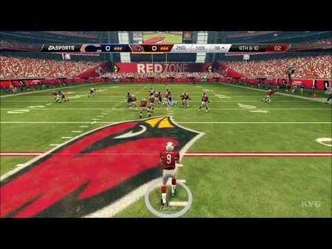 Madden NFL 25  Arizona Cardinals vs. Chicago Bears Gameplay HD