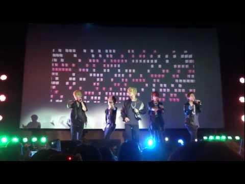 [HD] SHINee (샤이니/シャイニー) - Replay (누난 너무 예뻐) Live @ LKKF, London 2011