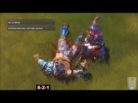 Blood Bowl 2 - BATTLE BEASTS! vs. Orcs - Match 12