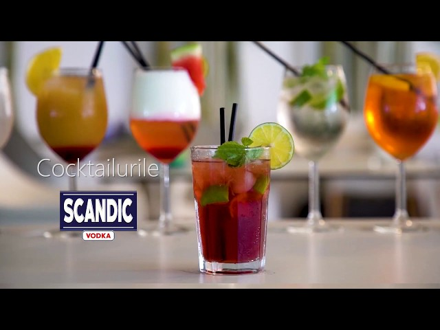 How to make Caipiroska Cocktail with SCANDIC VODKA