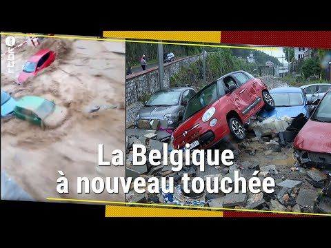 Download Les inondations frappent à nouveau la Belgique (Namur, Dinant) - RTBF Info